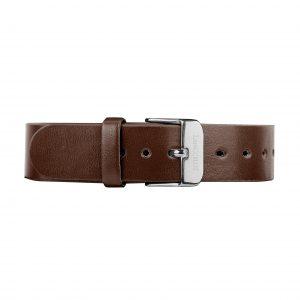 dark-brown-leather-buckle-silver-168c