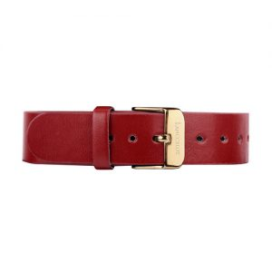 dark-red-leather-buckle-gold-1805c